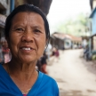 Burmese Lady in Falam, Myanmar (Burma)