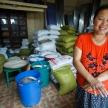 Rice Warehouse in Falam, Myanmar (Burma)