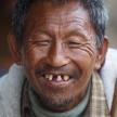 Burmese Man in Falam, Myanmar (Burma)