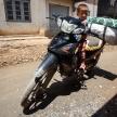 Boy Riding Motorbike Falam, Myanmar (Burma)