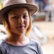 Pretty Lady in Falam, Myanmar (Burma)
