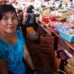 Local fresh market in Falam, Myanmar (Burma)