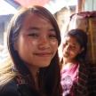 Teenage Girls in Falam, Myanmar (Burma)