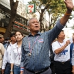 BANGKOK - JANUARY 9 2014: Suthep, leader of the anti government