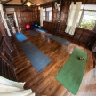Traditional Yoga Studio in Wooden House