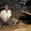 Hut Interior - Floating Fishing Village - Uganda, Africa