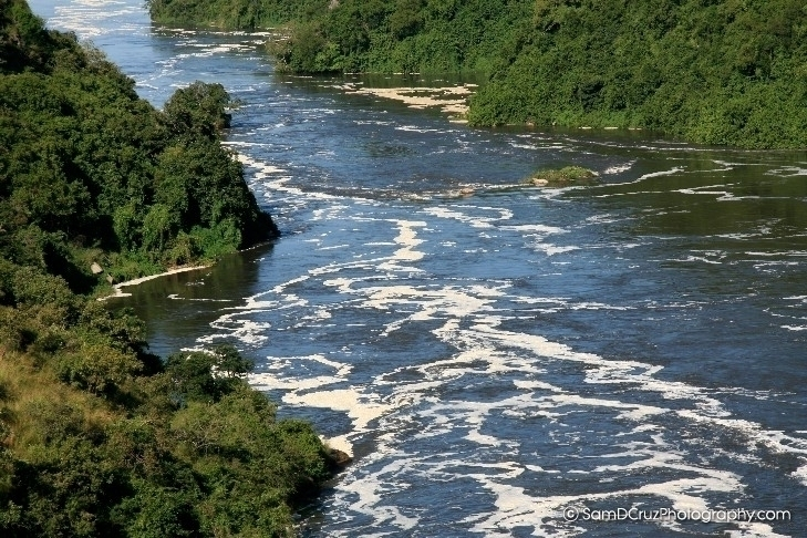 The Nile River, Uganda, Africa