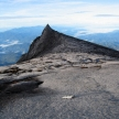 At Peak of Mt Kinabalu, Borneo