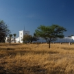 German Fort in Etosha Safari Park in Namibia