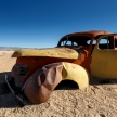 Classic Car at Solitaire - Sossusvlei, Namibia