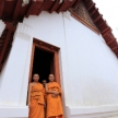 Buddhist Monk - Wat Suwannaram, Thailand