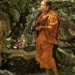 Monk Photographer in Phetchaburi, Thailand