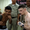 THAILAND - FEBUARY 12 2014: John Nofer takes part in press confe