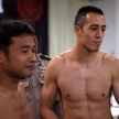 THAILAND - FEBUARY 12 2014: International and Thai fighters take