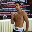 THAILAND - FEBUARY 12 2014: Mohammed Bouazza takes part in press