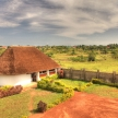 Luxury Hotel Restauraunt, Uganda, Africa