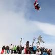 VANCOUVER - MARCH 28: Quiksilver Snowboard Snowboarding Comp