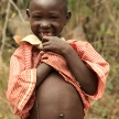 Young Poor Girl - Abela Rock, Uganda, Africa