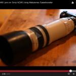 Canon 100-400 Lens on Sony NEX6 Using Metabones Speedbooster