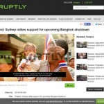 Bangkok Protest Videos – Thailand