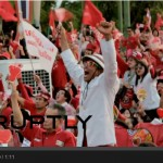 Thailand : Thousands of Red Shirts rally at Aksa Road – Bangkok in support of ousted PM Yingluck Shinawatra