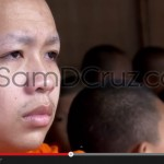 VIDEO : Buddhist Monks Official Alms Ceremony, Chiang Mai