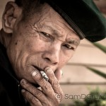 PHOTO OF THE DAY : Smoking at Remote Train Station
