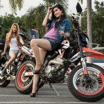 Models & Motorbikes – Outdoor Photo Shoot