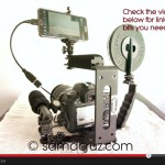 How To Build a Cheap DSLR Canon Video Rig Using Samsung Note 3 as Video Monitor With DSLR Controller