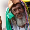 BANGKOK - JANUARY 13 2014: Protesters against the government ral