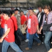 BANGKOK - DEC 10: Red Shirts Protest Demonstration - Thailand